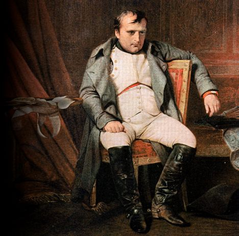 napoleon bonaparte højde